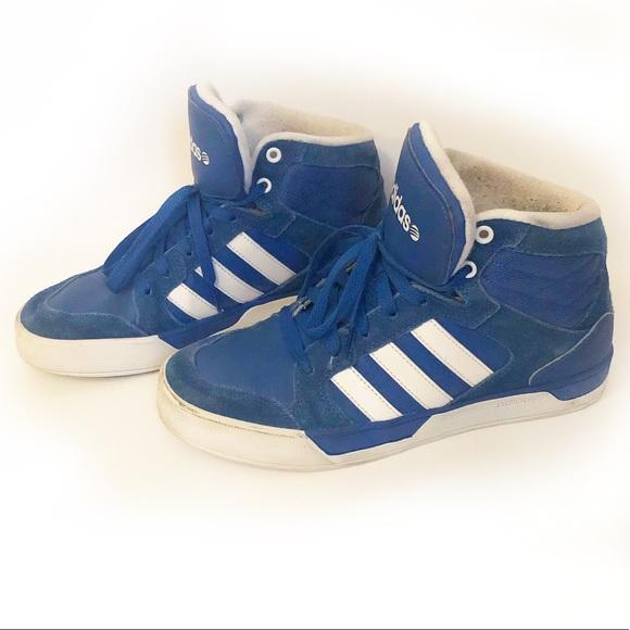 Adidas Men's NEO Ortholite High Top Sneakers
